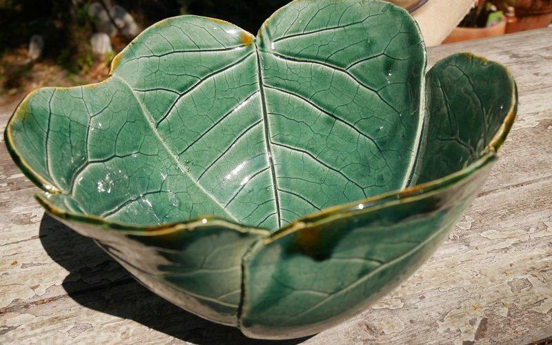 Keramikblätterschalen